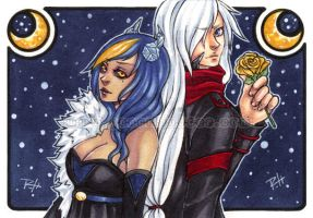 aceo com - edith and ridley by demon-rae