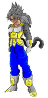 character design: trunks ssj5 by omegaproductions