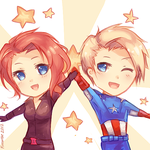 Avengers: Power up!~ by Fiveonthe