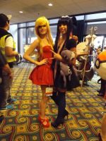 Panty and Stocking by archangelselect