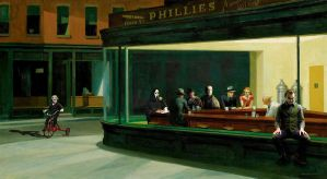 Hopper's horror bar by GakiRules
