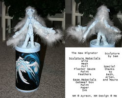 New Migrator Sculpture by fokkusu1991