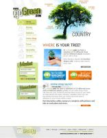 goGreen Web Design Template by mangion
