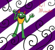 lil monster by my-darkness