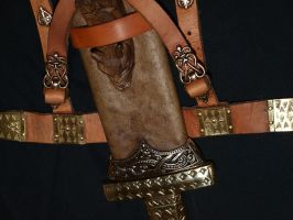 Viking sword scabbard 6 by DarkSunTattoo