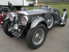 Classic Bentley 3.5 litre by remmy77