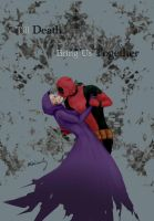 Deadpool and Death by minicooly