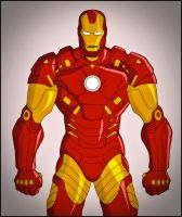 Iron Man by DraganD