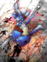 Lucario- Alternate by Rukaria