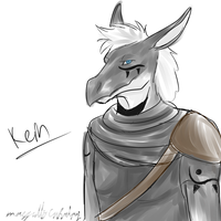 Sketch: Kein by MagicallyCapricious