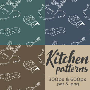 [Stock] Kitchen Patterns by dimawari
