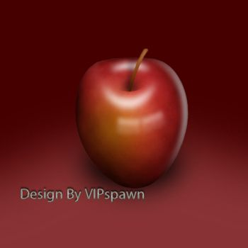 Red Apple by VIPozgur