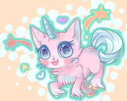 Unikitty by LizardBat