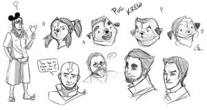 Avatar Doodles by Pugletz