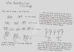When Animating Eyes by CelmationPrince
