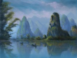 Impression of Yulong River by phantastes