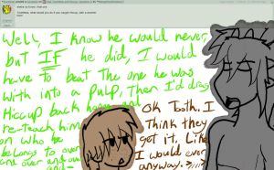 Ask Toothless and Hiccup: Question 9 by Midnight7716