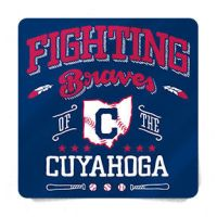 Sticker - Fighting Braves of the Cuyahoga by Griggitee