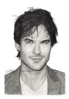 Ian Somerhalder by MeikeZane