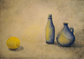 Blue with Lemon by Itherin