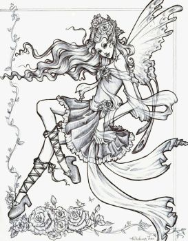 Flower Fairy x3 by Bamboo-for-lunch
