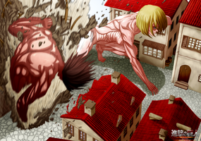 Colored 225_Attack on titan by Enara123