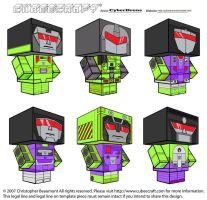 Cubeecraft - Constructicons by CyberDrone