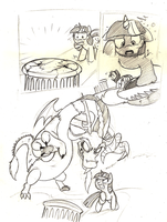 Twiligt VS Discord sketch page by Mickeymonster