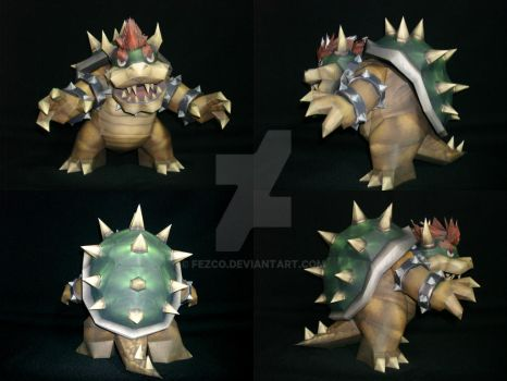 SSBB: Bowser by fezco