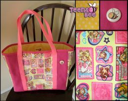 Yellow Sailor Moon Bag by Teena-Bee