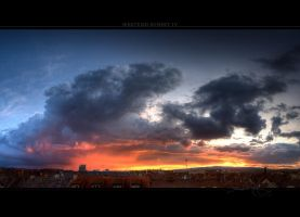 Westend Sunset IV by Panomenal