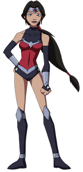 Wonder Woman - Justice League War Outfit by Glee-chan