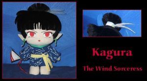 Kagura Custom Plush by Earthfirefly