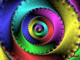 Colorful Spiral_Neon by BigThunder1