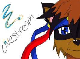 Streaming by Stripes-the-Raccoon