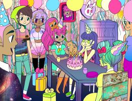 Birthday Bash by prismpixels