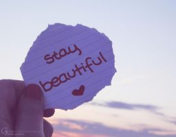 stay beautiful by 333Miami333