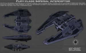 Fury-class Imperial Interceptor ortho [New] by unusualsuspex