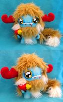 "7"" Custom Munny Monster by loveandasandwich"