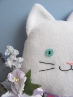 Flower kitty by mypetmoon