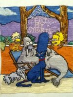 Simpsons Animals by Stitches-and-Beer