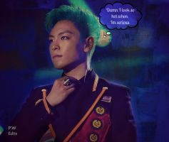 T.O.P - Damn i look hot when im serious by KateW49