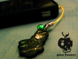 Loki Cell Phone Charm by AppleToxicity