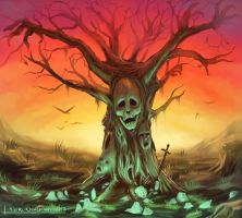 Death tree by Chuchmay