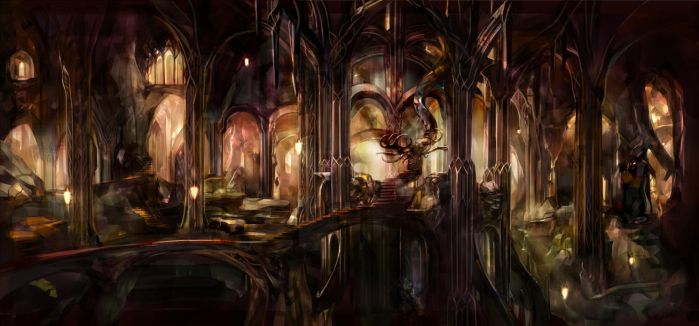 The Realm of Mirkwood by SaigaTokihito