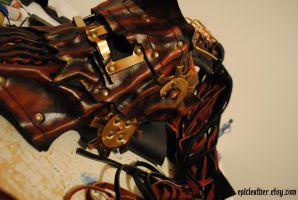 Haunted Steampunk Alchemist WIP by Epic-Leather