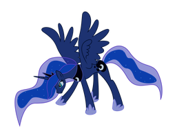 Playful Luna by Tory-Kasper-Ponies