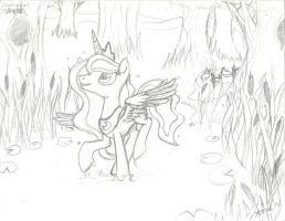 Thing I really don't wanna color by Ariah101