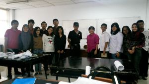 guest lecturer for the Trisakti University by toniart57