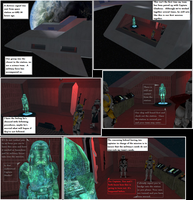 Infested Station Page 1 by FBOMBheart